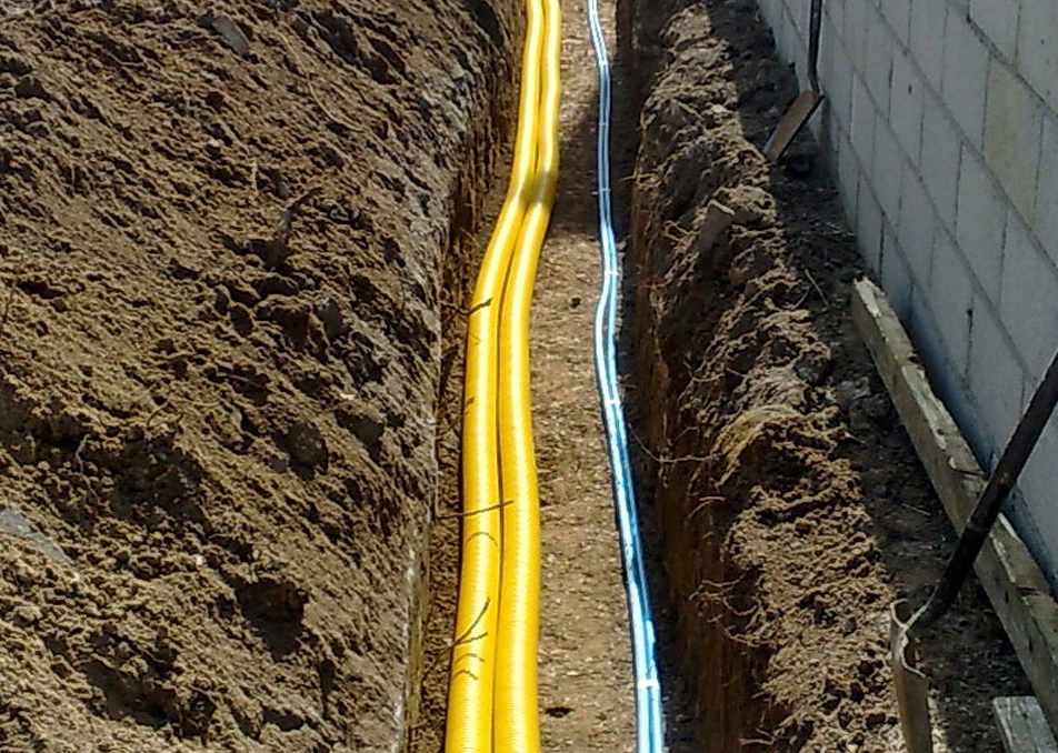 Service Trench in Richmond